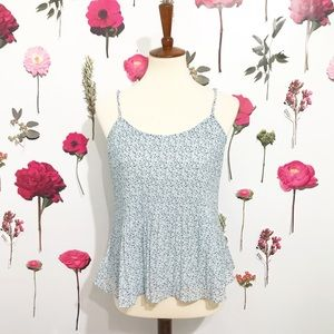 • Abercrombie • Floral Tank